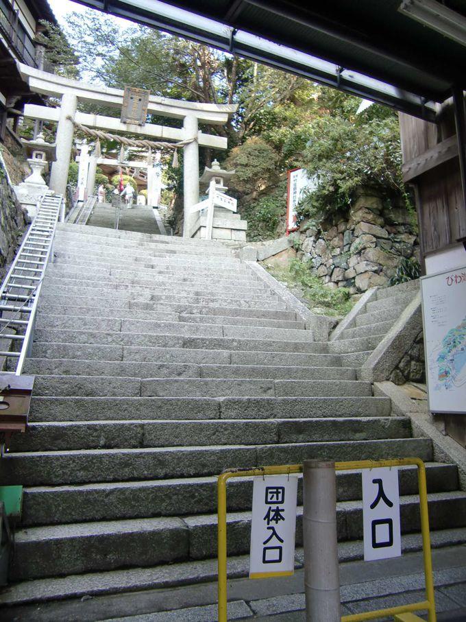 いざ!目指す宝厳寺本堂には日本三弁才天のひとつが!