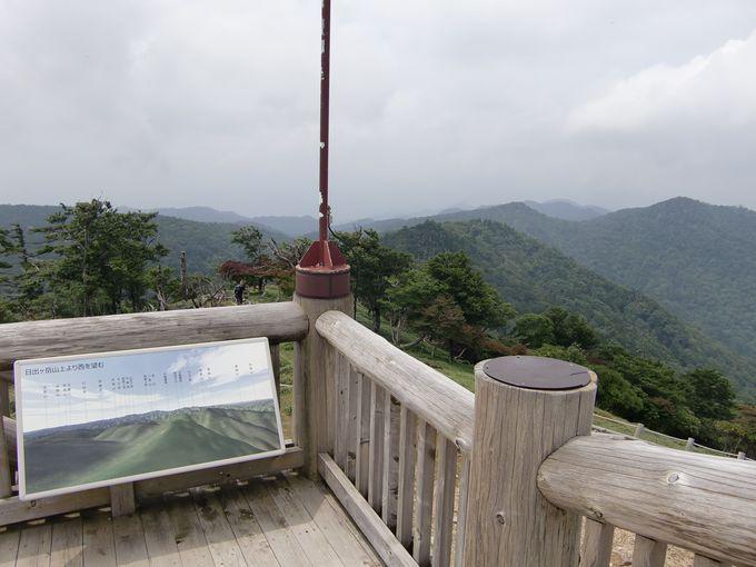 360度のパノラマを体験できる日出ヶ岳。空気が澄んだ晴れた日には、何と富士山が見えることも!