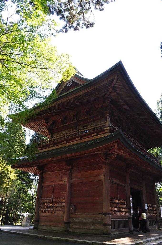 東塔エリア・実は延暦寺の山門だった「文殊楼」