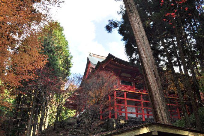 延暦寺三塔の中で最も北に位置する横川へ