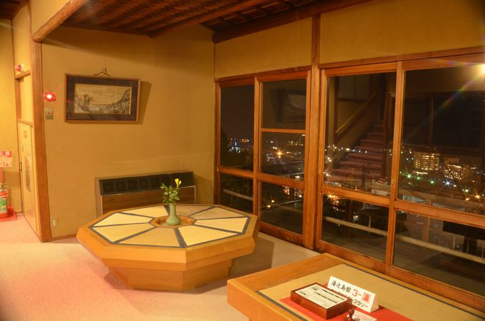 下呂温泉を一望できる「湯之島館」ビューポイント「展望台」
