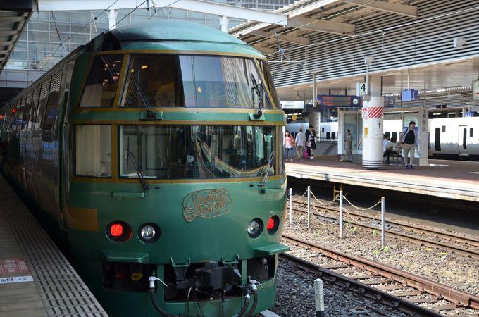 お手頃価格で、博多駅・由布院駅間なら2時間9分、博多駅・別府駅間なら3時間10分の至福のひととき!