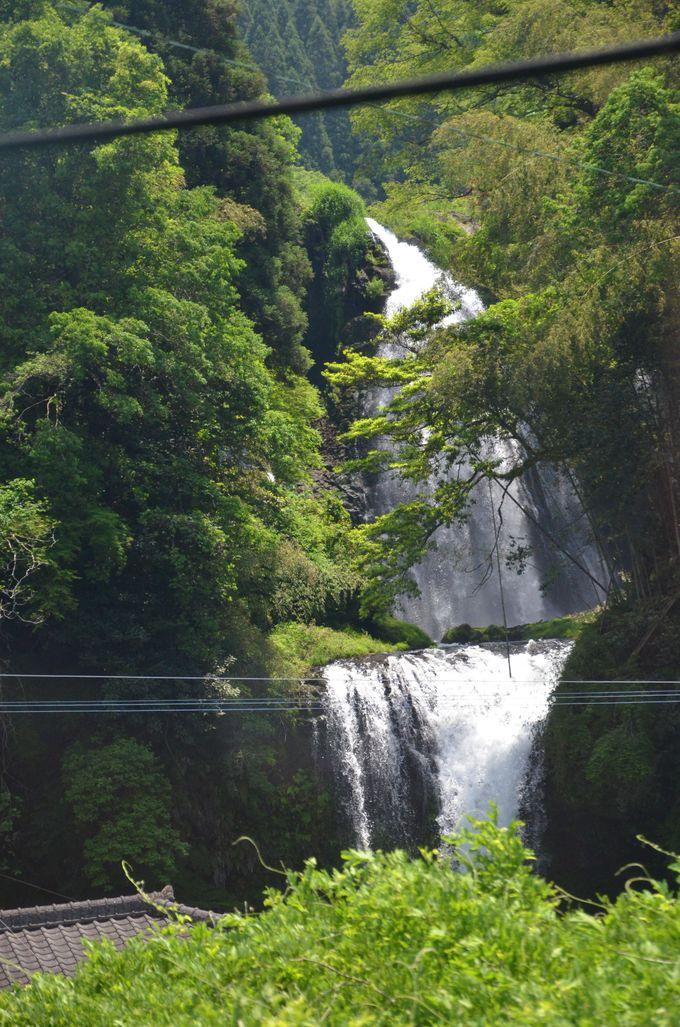 車窓からの景色はもちろん、「ななつ星in九州」や「或る列車」にも遭遇するかもしれない楽しみも!
