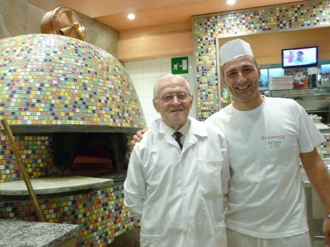 ローマで食べる、本格ナポリピザ!「チーロ」