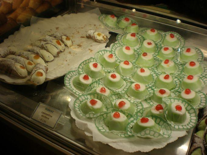 シチリアのケーキ&バール「ダニーノ」