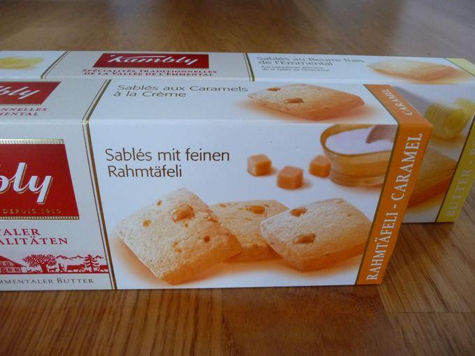 意外とおいしい、スイスのクッキー各種