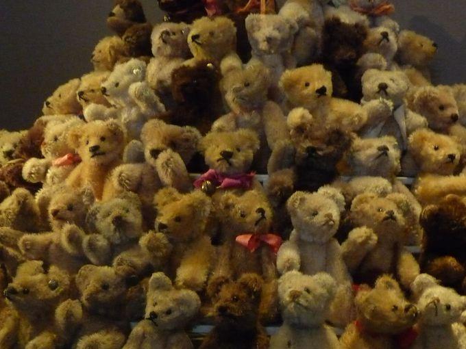 世界中から集められた、2500体以上のコレクション!