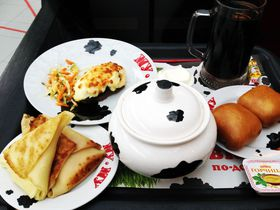 気軽にロシア料理!モスクワっ子に大人気のカフェ「ムームー」