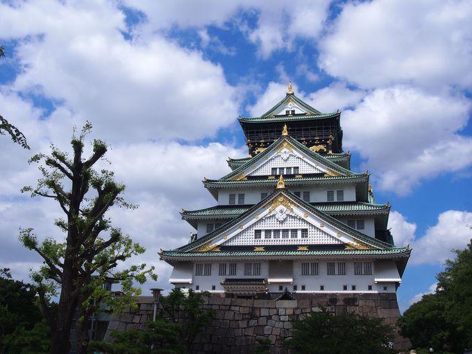 ここは絶対はずせない「大阪城」