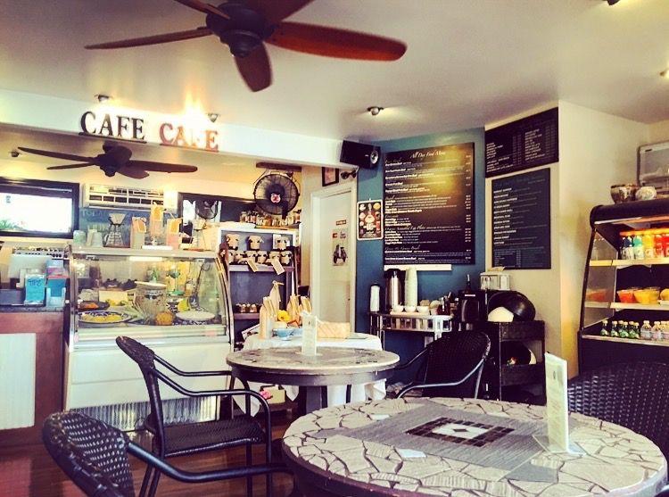 ローカルの隠れ家的カフェ「CAFE CAFE」
