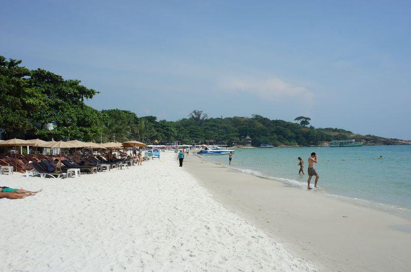 白砂と青い海!バンコクに一番近いリゾート島・サメット島
