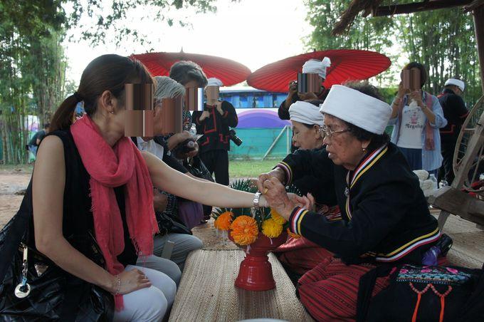 儀式の前にタイ・ランナー文化に触れる!