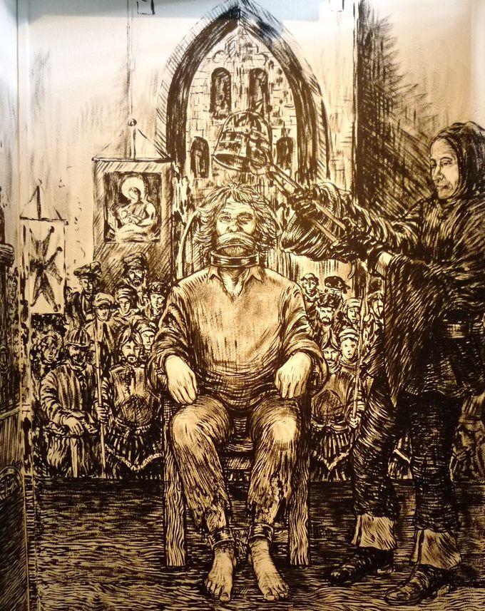 拷問博物館は心の準備をして入館すべし!