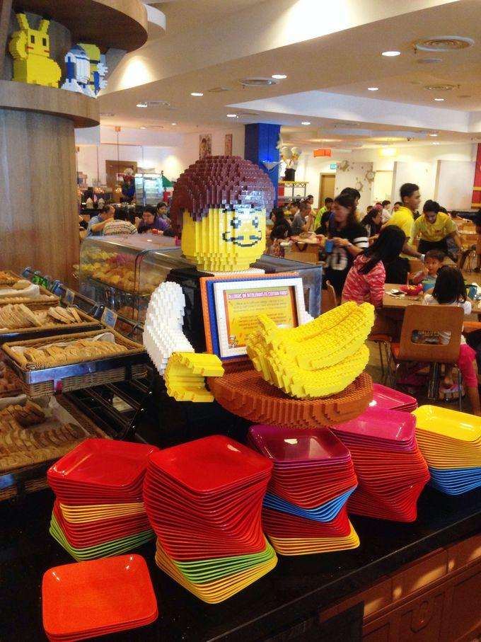 レストランもレゴの世界!
