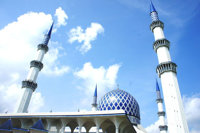 10.スルタン・サラフディン・アブドゥル・アジズ・シャー・モスク
