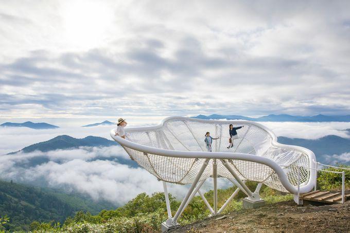 星野リゾート トマム「雲海テラス」に2つの新展望スポット誕生