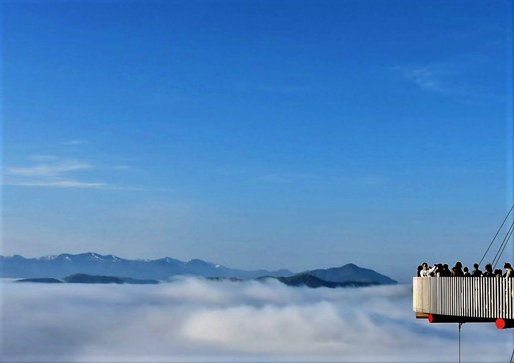 雲の上をお散歩!210度の絶景「Cloud Walk(クラウドウォーク)」