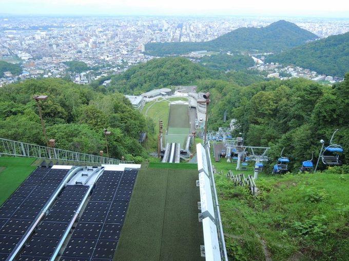 2人乗りのリフトでスリルが味わえる「大倉山展望台」へ行こう!
