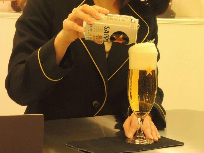 コダワリの三度注ぎで極上ビールを味わえ!
