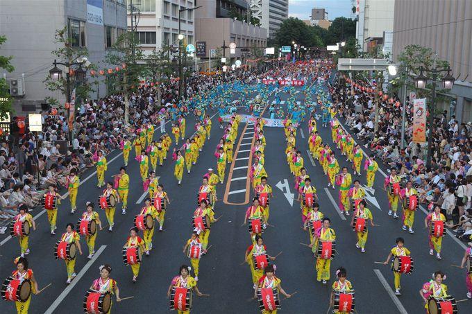 世界一!ギネスブック認定の和太鼓同時演奏のさんさ祭りとは!?