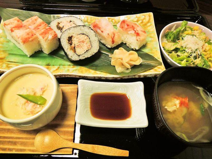 北海道の蟹をお得に!!ランチで気軽に寄りたい『蟹工船』!!