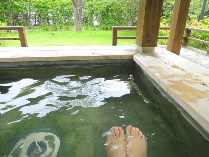 温泉・足湯、宿泊も日帰りも楽しめる支笏湖温泉!