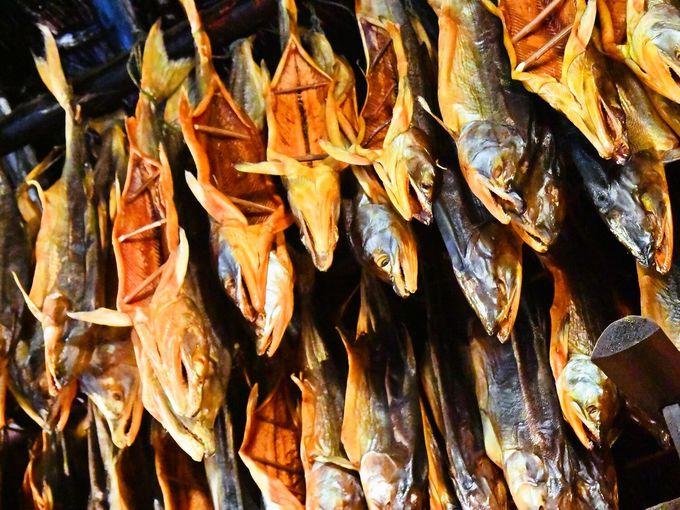 サッチェプ(干し鮭)は神様からの贈り物