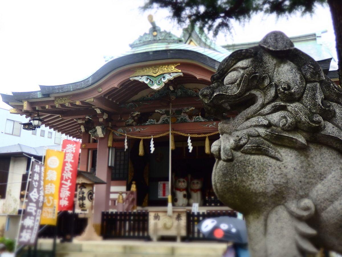 スカイツリーがよく見える奥浅草「今戸神社」の由緒と人気の理由とは?