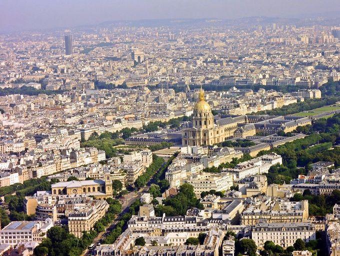 アンヴァリッドや凱旋門、パリの名所をチェック