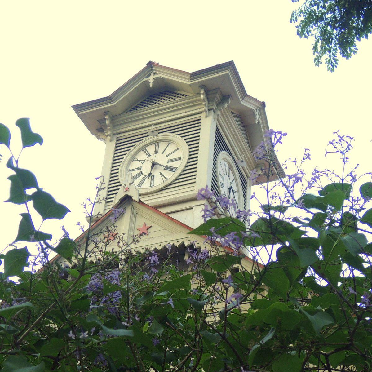 ☆2 札幌の「とき」を刻む「さっぽろ時計台」にも!