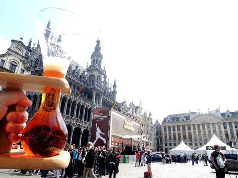 世界で最も美しい広場があるブリュッセルで美食巡りの旅