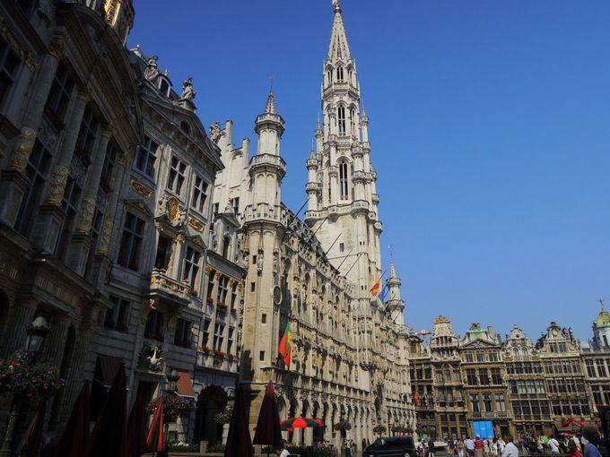 「世界一美しい広場」も見逃せない!! ブリュッセルの『グランプラス』