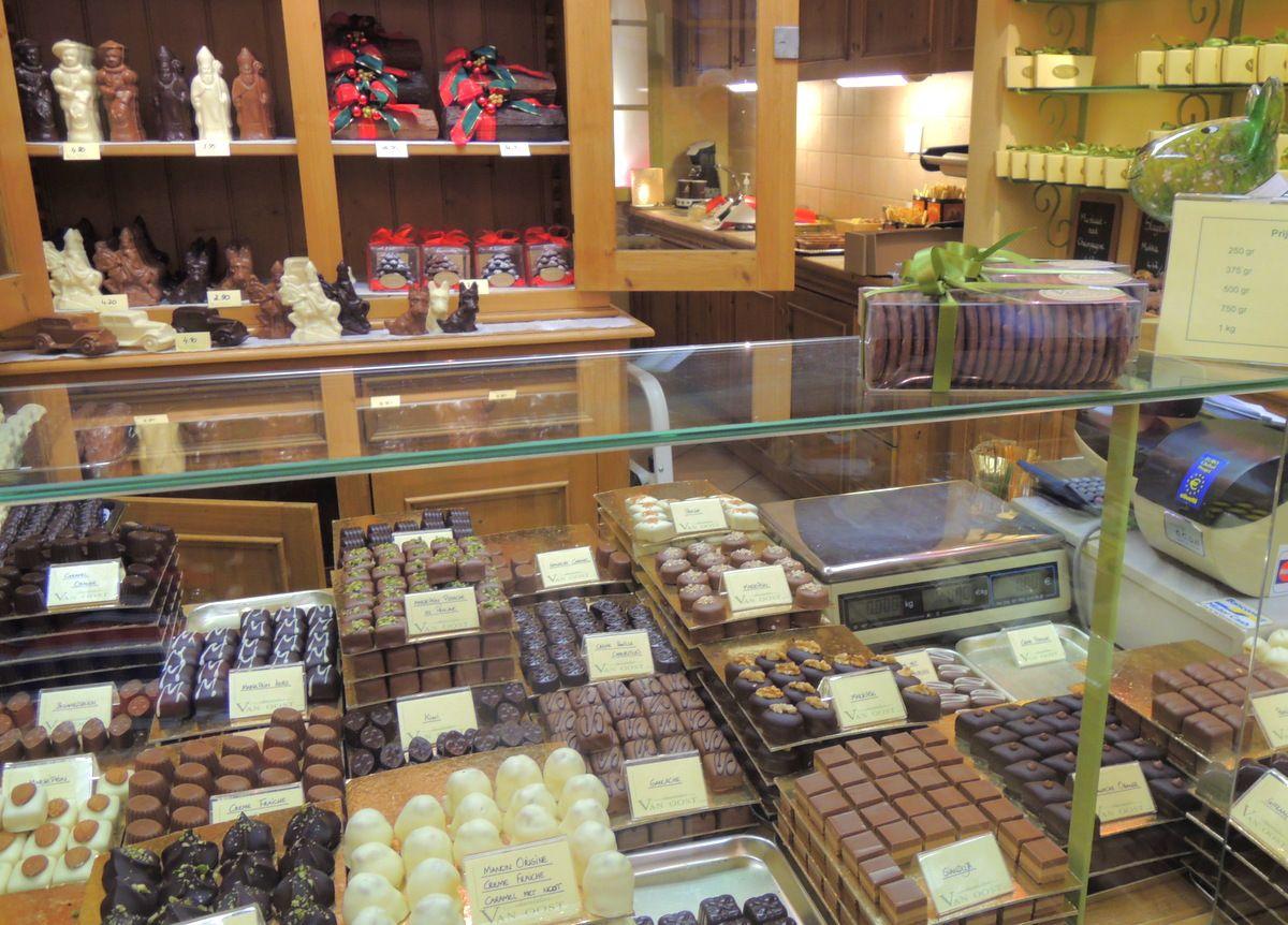 9.チョコレート店