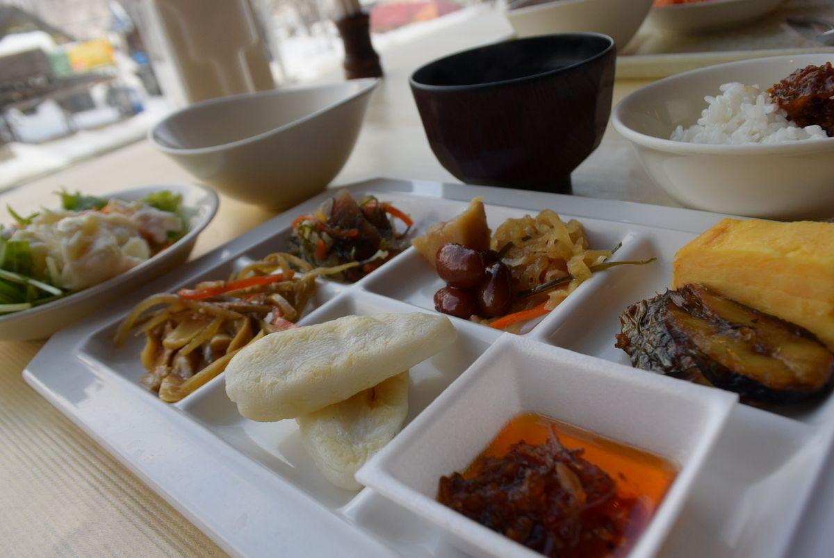 北海道の食材を使った料理に定評あり!