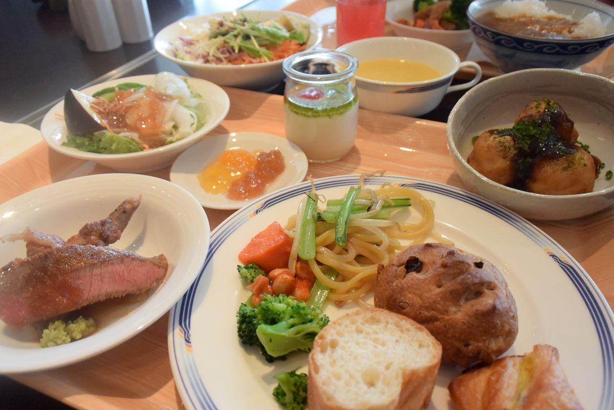 まるでデパ地下!前後泊にオススメな「ホテル日航関西空港」の朝食が美味しい