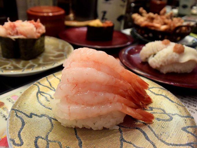 2日目 午前:どこまでお寿司かもはや不明!?「なごやか亭」で回転寿司ランチ