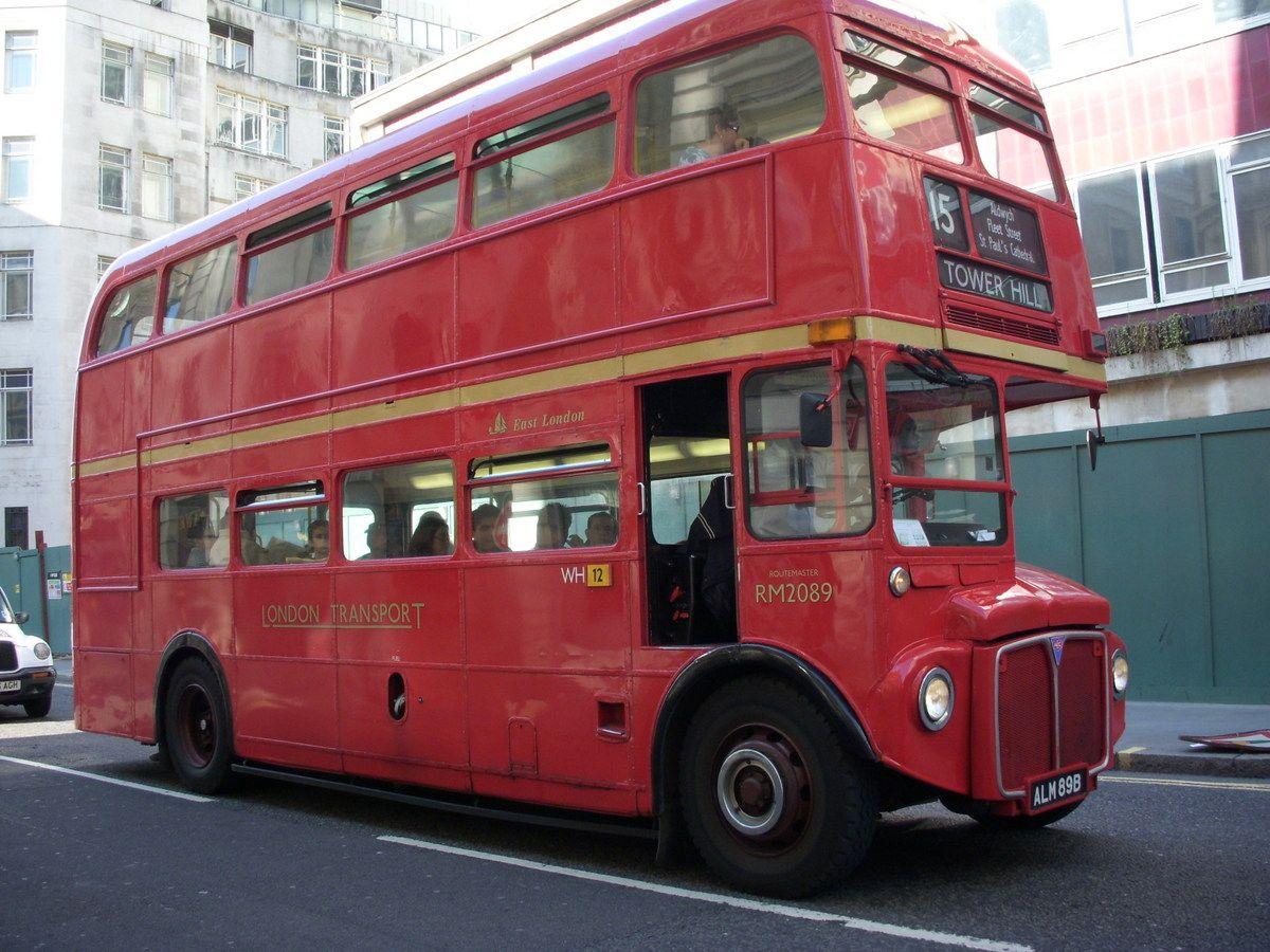 2.ロンドンバスに乗る