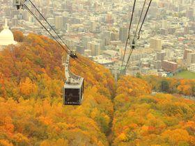 昼だって絶景!札幌「藻岩山」の紅葉狩りは楽しみ方3種類