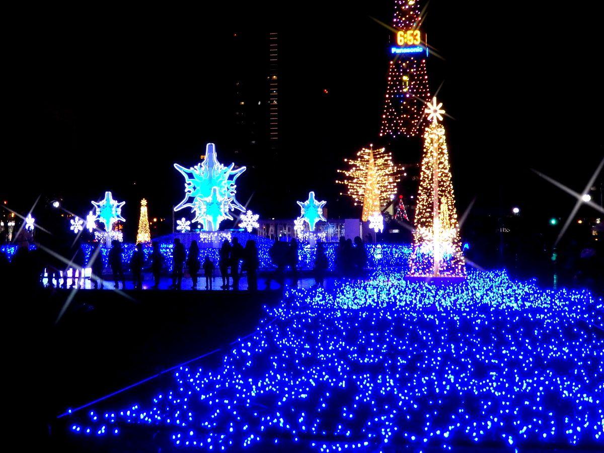 白い雪景色に映えるイベントがいっぱい!冬のさっぽろ