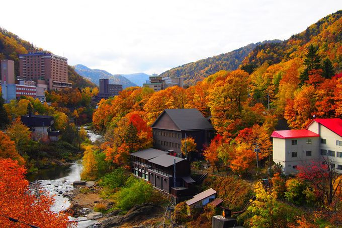 定山渓温泉の紅葉とライトアップの楽しみ方と注意点