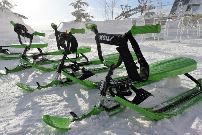 アクティブに冬のゲレンデを「スノーカート」で楽しもう!