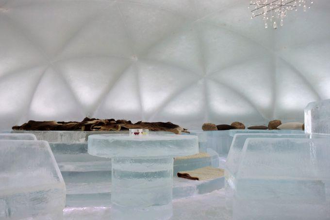 星野リゾート トマムに幻想的な「氷のホテル」が登場