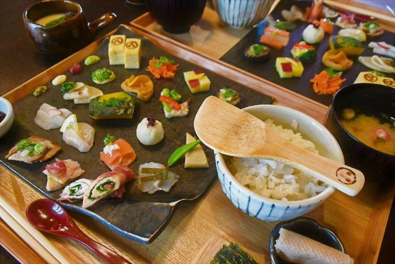 SNS映えするカラフル和食は札幌の古民家「かまだ茶寮 円山」で