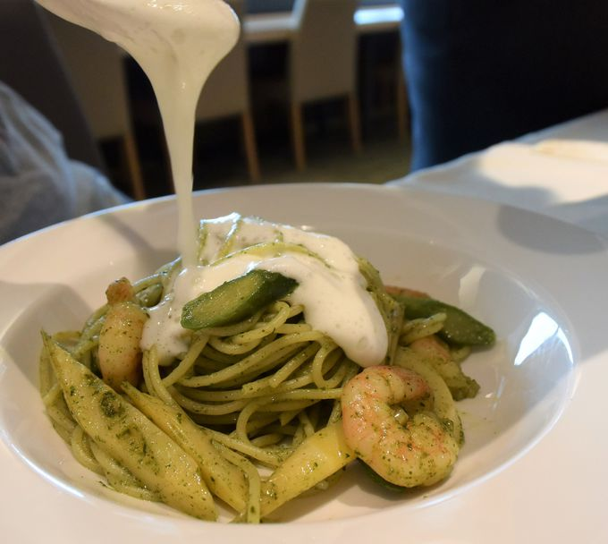 大地の味と緑が濃い!素材の特徴を生かした料理メニュー