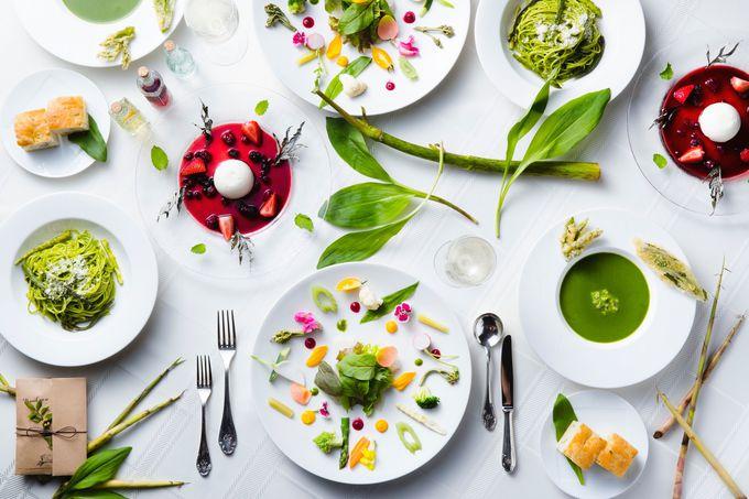 6月下旬まで楽しめる春!大地の息吹「ワイルドハーブ」を食べる