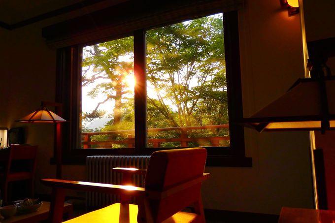 窓の外の景色も美しい!優雅なステイが可能な客室