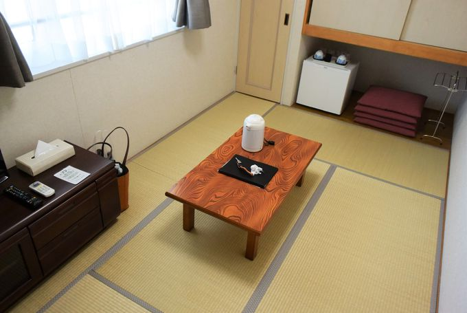 家族旅行やグループ旅行も。広くて寛げる部屋タイプ