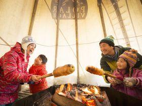家族で楽しい!星野リゾート トマムのバームクーヘン作りはスノーシュー体験付き!