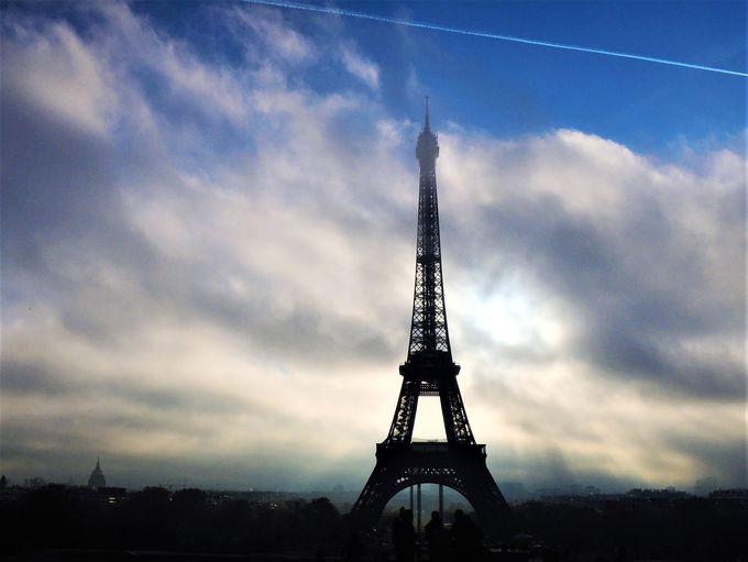 上らなくても行きたい!世界一有名な塔、エッフェル塔