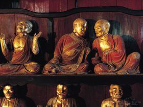 心をまるくするパワスポ。岩手県盛岡市「報恩寺」の『五百羅漢』に癒される